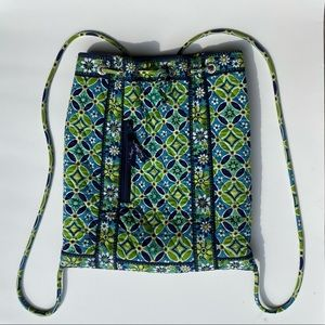Vera Bradley backpack blue/green